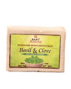 Handmade Soap - Basil and Clove