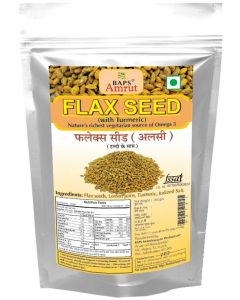 Flax Seeds with Turmeric