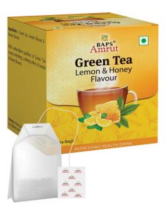 Green Tea With Lemon & Honey Flavour