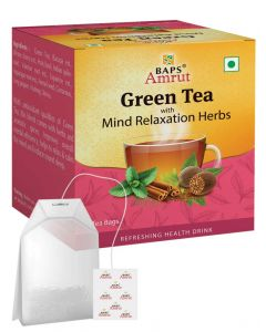 Green Tea With Mind Relaxation Herbs