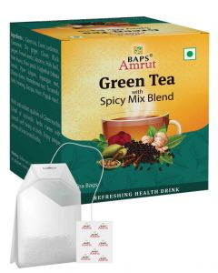Green Tea With Spicy Mix Blend