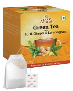 Green Tea With Tulsi, Ginger & Lemongrass