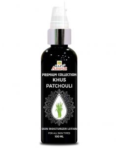 Khus patchouli lotion