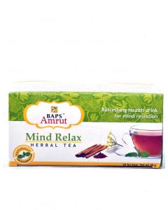 Mind Relax Herbal Tea-20 Tea bags
